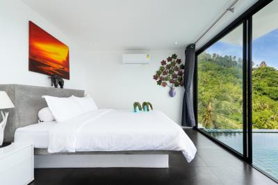 Sea-View-Apartment-Lamai-Guest-Bedroom
