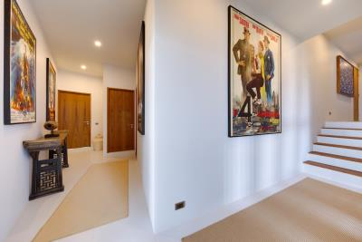 Luxury-Villa-Samui-Hallway