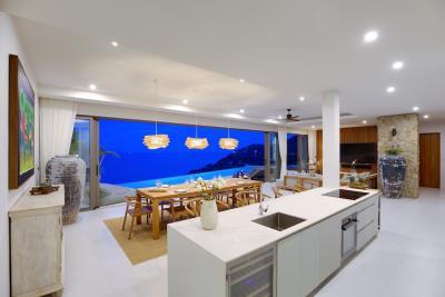 Luxury-Villa-Samui-Kitchen-Night