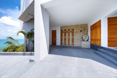 Luxury-Villa-Samui-Parking
