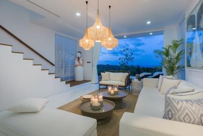Koh-Samui-Villas-Living-Night