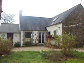 Image No.1-Propriété de pays de 3 chambres à vendre à Scrignac