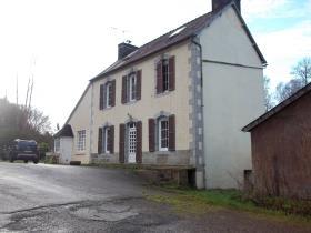 Image No.1-Propriété de pays de 4 chambres à vendre à Poullaouen