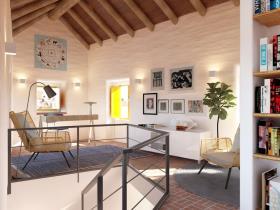 Image No.2-Maison de ville de 2 chambres à vendre à São Bartolomeu de Messines