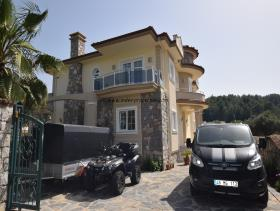 Image No.2-Villa / Détaché de 4 chambres à vendre à Uzumlu
