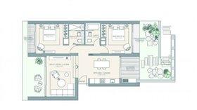 Image No.4-Appartement de 2 chambres à vendre à Tsada