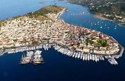 Poros-town-from-above