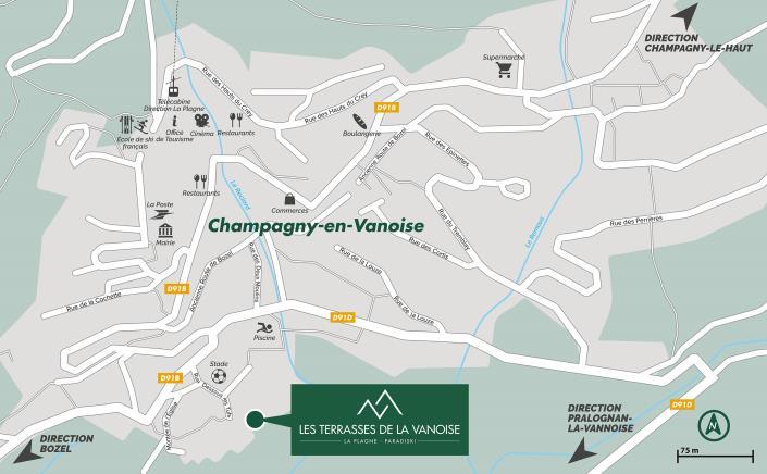 Champagny-en-Vanoise, Apartment>