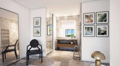 Salle-de-bain---Villa-14--version-marbre-blanc-