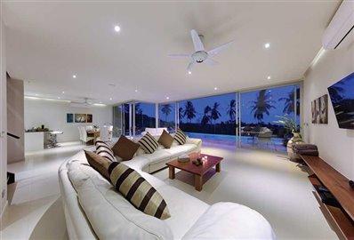 coral-cay-villa-1-living-at-night