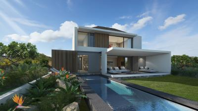 Exterior-with-pool---Villa-Pure