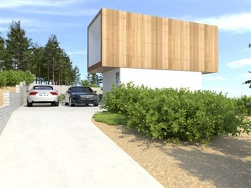Contemporary designed villa