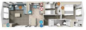 Image No.1-Mobile Home de 2 chambres à vendre à La Chapelle-aux-Filtzméens