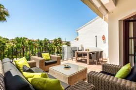 Image No.1-Maison de ville de 3 chambres à vendre à Riviera del Sol