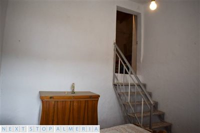 Stairs to fifth room