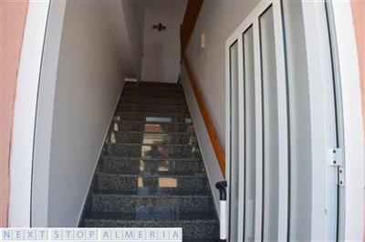 Entrance to the south side apartment