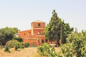 Fuente Álamo, Finca