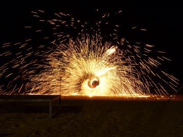 Beach-Fireshow