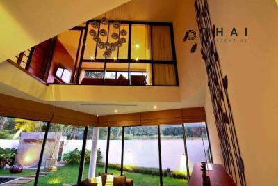 3_bedroom_golf_course_view_pool_villa_kathu_phuket_cathedral_ceiling