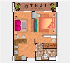 Type-A-1-Bedroom