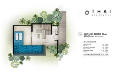 1_bedroom_pool_villa_layan_phuket_ground_floor_plan