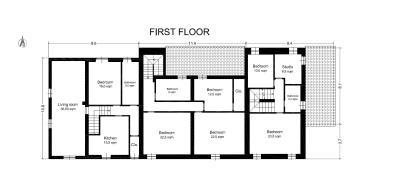 AZ-Italian-Properties---House-for-Sale-Tuscany-Lucca-Floor-plan-First-floor