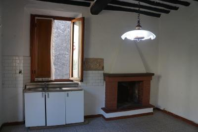 kitchen-and-fireplace