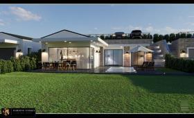Image No.1-Villa de 3 chambres à vendre à Yalikavak