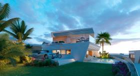 Image No.1-Maison de ville de 3 chambres à vendre à Mijas Costa