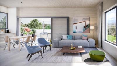 Minthis_CGI_Ezousa-Suites_Olea_living-area
