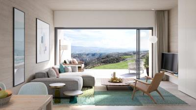 Minthis_CGI_Ezousa-Suites_Olympia_living-area