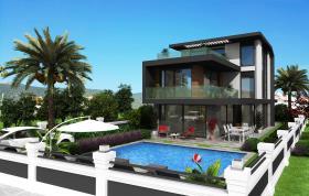 Image No.0-Maison / Villa de 4 chambres à vendre à Bodrum