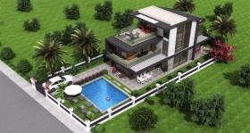 Image No.2-Maison / Villa de 4 chambres à vendre à Bodrum