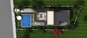 Image No.4-Maison / Villa de 4 chambres à vendre à Bodrum