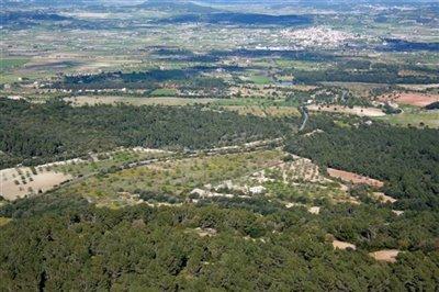 Algaida Countryside Aerial