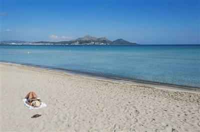 Beach of Playas de Muro 5