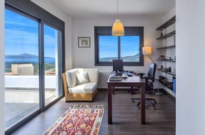 Villa-Vamos-Apokoronas-Crete-For-SaleMaster-Bed-B-Office