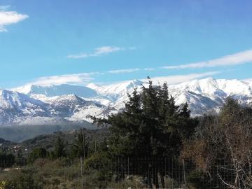 Villa-Vamos-Apokoronas-Crete-For-SaleView-in-Winter