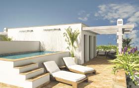 Image No.1-Maison de ville de 4 chambres à vendre à Los Boliches