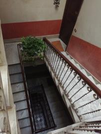 028---Marble---Ornate-Iron-staircase--Apartment-Entrance