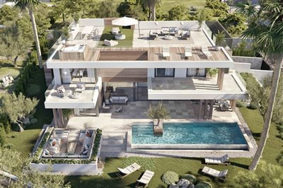 Luxury villas for sale on the Golden Mile in Marbella, Costa del Sol