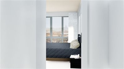 Penthouse apartment with sensational views in front of Playa del Reducto