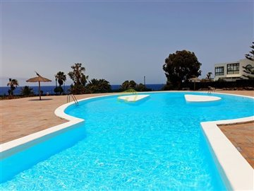 1 Bedroom Apartment in Gated Complex in Costa Teguise