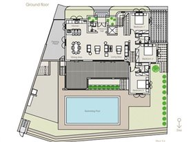 Image No.3-Villa de 4 chambres à vendre à Limassol Marina